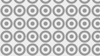 Grey Seamless Geometric Circle Background Pattern Vector Image