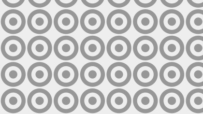 Grey Seamless Geometric Circle Background Pattern Vector Image