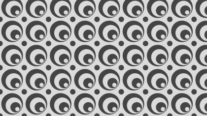 Grey Geometric Circle Pattern Illustration