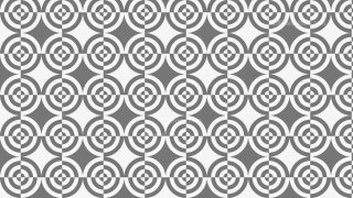 Grey Seamless Quarter Circles Background Pattern Vector Art