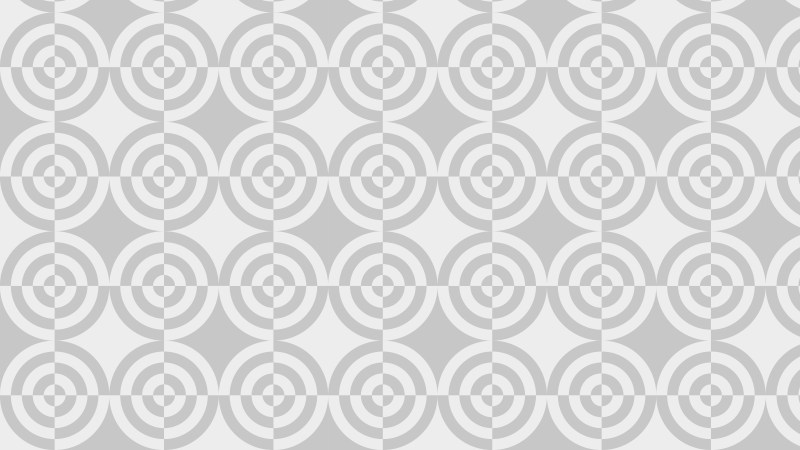 Light Grey Quarter Circles Pattern Background