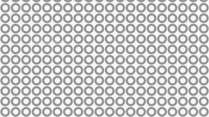 Grey Seamless Geometric Circle Pattern Background Vector