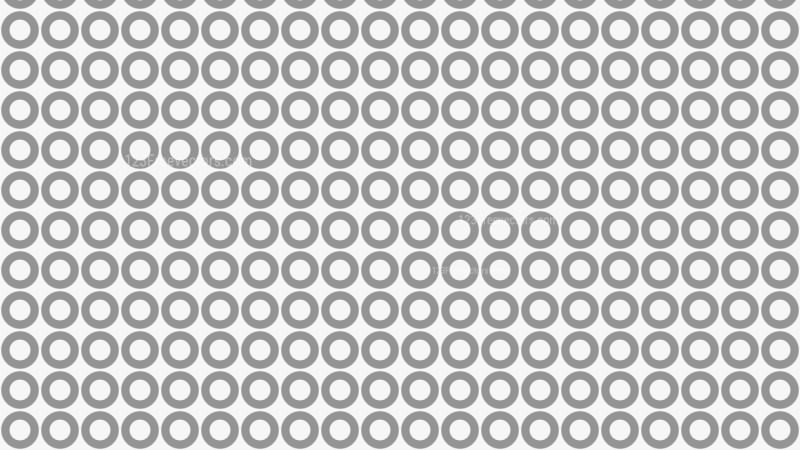 Grey Seamless Geometric Circle Pattern Background Vector