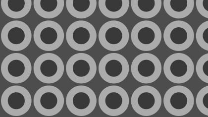 Dark Grey Seamless Geometric Circle Background Pattern Vector Art