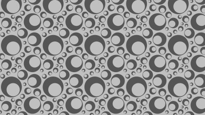 Grey Circle Background Pattern Vector Graphic