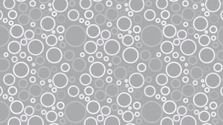Light Grey Geometric Circle Background Pattern Vector Illustration