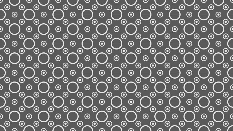 Dark Grey Seamless Geometric Circle Background Pattern Image