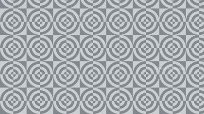 Grey Seamless Quarter Circles Pattern