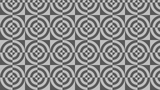 Dark Grey Seamless Quarter Circles Pattern Background