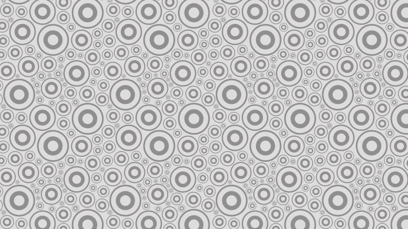 Light Grey Circle Pattern