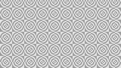 Light Grey Seamless Quarter Circles Background Pattern