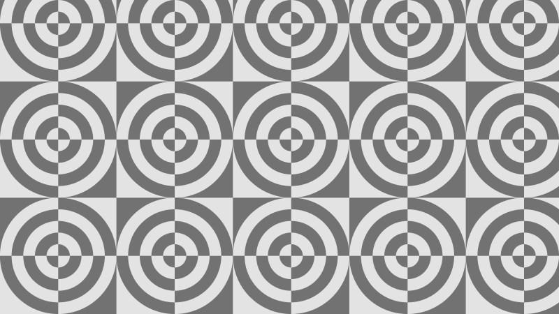 Grey Quarter Circles Pattern Illustrator