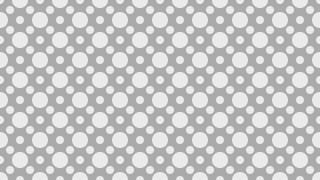 Grey Geometric Circle Pattern