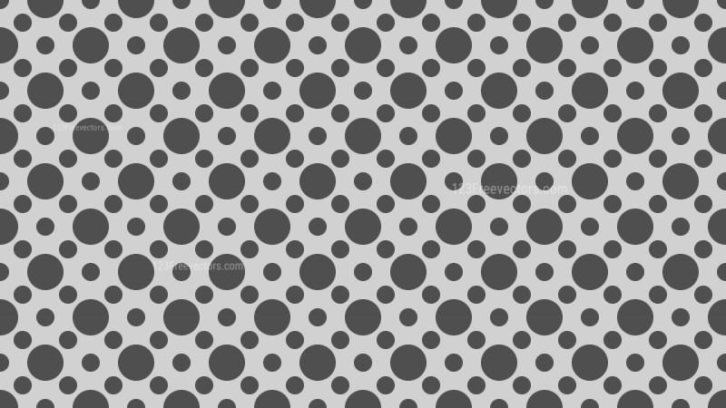 Grey Geometric Circle Pattern Background