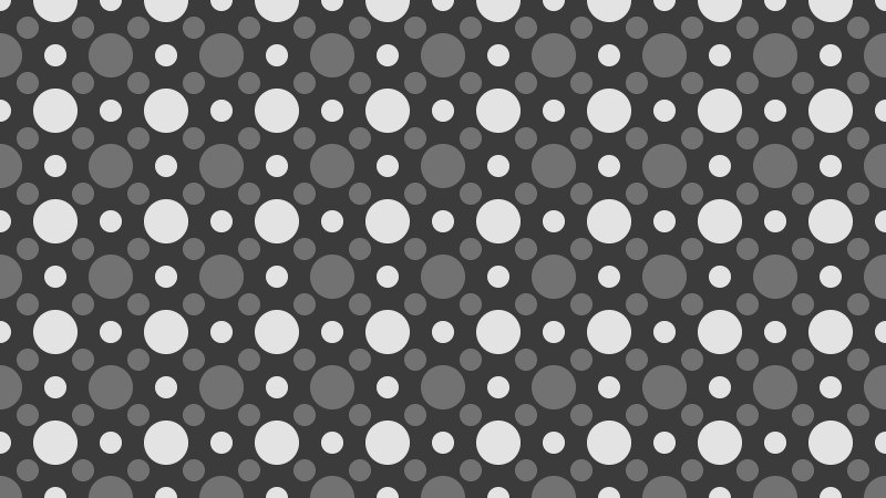 Dark Grey Geometric Circle Background Pattern