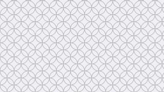 Light Grey Seamless Overlapping Circles Background Pattern Vector Art