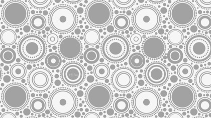 Light Grey Seamless Geometric Circle Pattern Background Illustrator