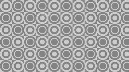 Grey Circle Pattern Background Illustration