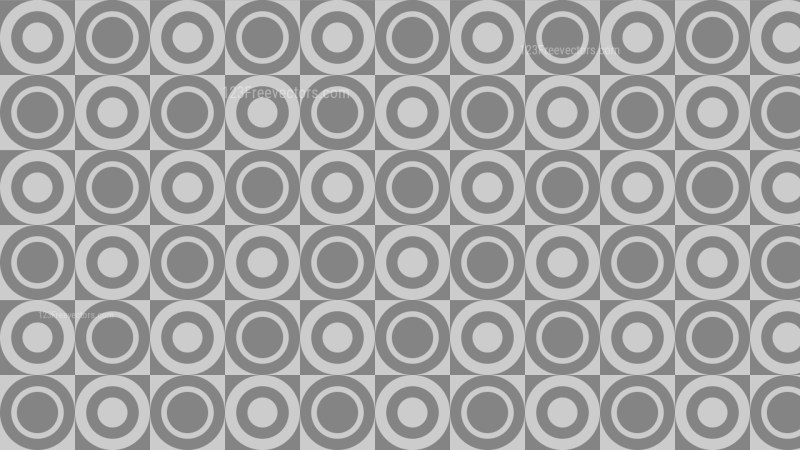 Grey Circle Pattern Background Illustration