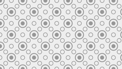 Light Grey Geometric Circle Pattern Background Vector Graphic