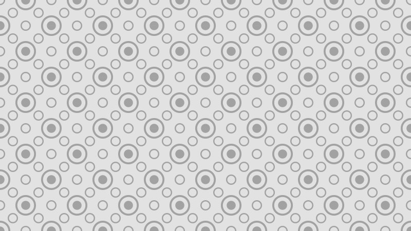 Light Grey Circle Pattern