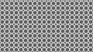 Grey Circle Background Pattern