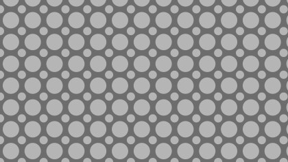 Grey Geometric Circle Pattern