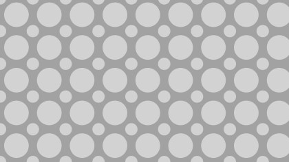 Grey Geometric Circle Pattern Background