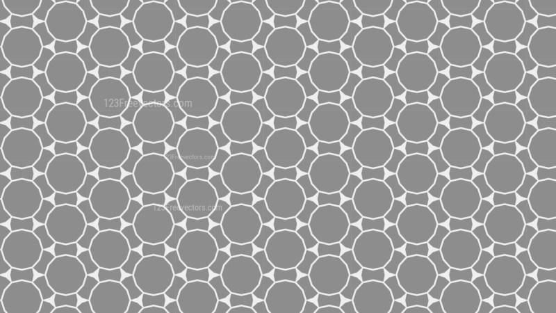 Grey Geometric Circle Background Pattern