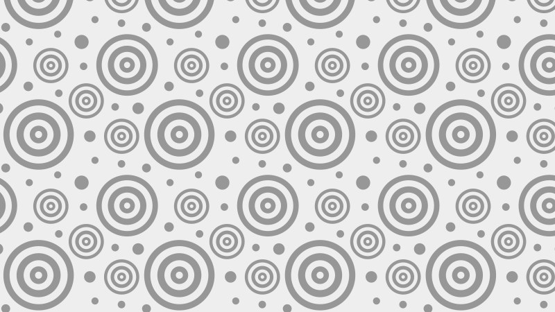 Light Grey Concentric Circles Pattern Illustrator
