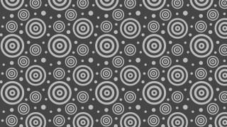 Dark Grey Circle Pattern Vector Graphic