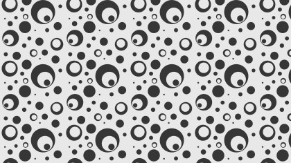 Grey Seamless Circle Pattern Background Illustration