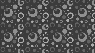 Dark Grey Seamless Geometric Circle Background Pattern Vector Image
