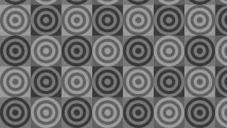 Dark Grey Seamless Concentric Circles Background Pattern Illustration
