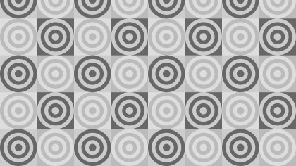 Grey Concentric Circles Pattern