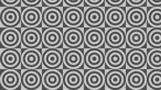 Grey Concentric Circles Pattern Vector