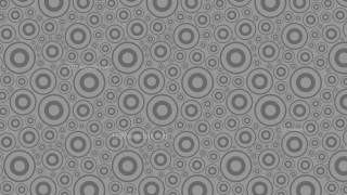 Grey Geometric Circle Background Pattern