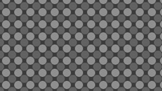 Dark Grey Circle Pattern Vector