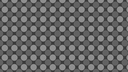 Dark Grey Circle Pattern Vector