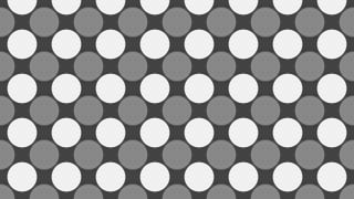 Grey Geometric Circle Pattern Background Design