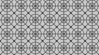 Grey Seamless Circle Pattern Background Vector Image