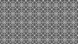 Grey Seamless Circle Background Pattern Illustrator