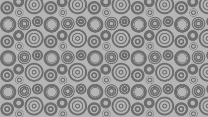 Grey Circle Background Pattern