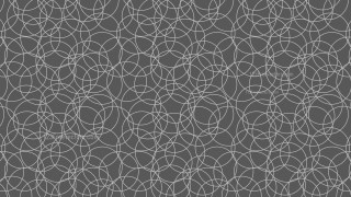 Dark Grey Overlapping Circles Pattern Illustrator
