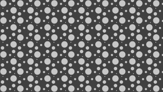 Dark Grey Scattered Dots Pattern Vector Graphic