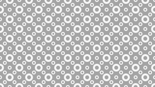 Grey Circle Pattern Design