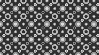 Dark Grey Geometric Circle Pattern Vector Image
