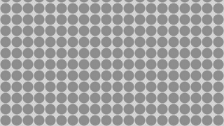 Grey Seamless Circle Pattern Vector