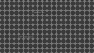 Dark Grey Seamless Circle Pattern Background Vector Art