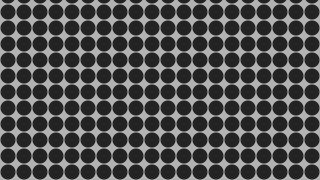 Dark Grey Seamless Circle Background Pattern Graphic